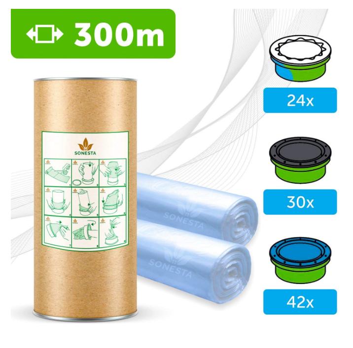 Recharge  sac poubelle tommee tippee  sangenic pas cher générique de marque Sonesta