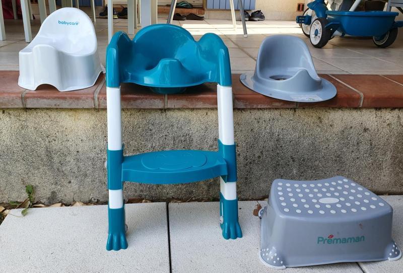 Accessoires pour arriver à la propreté diurne