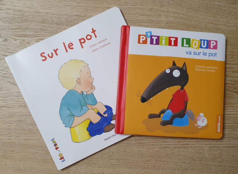 Livres pour enfants traitant de la propreté diurne