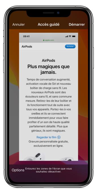 Bloquer une application dans iOS