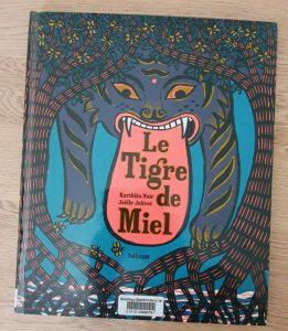 livre enfants le tigre de miel
